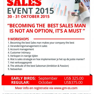 Power Sales Event 2015
